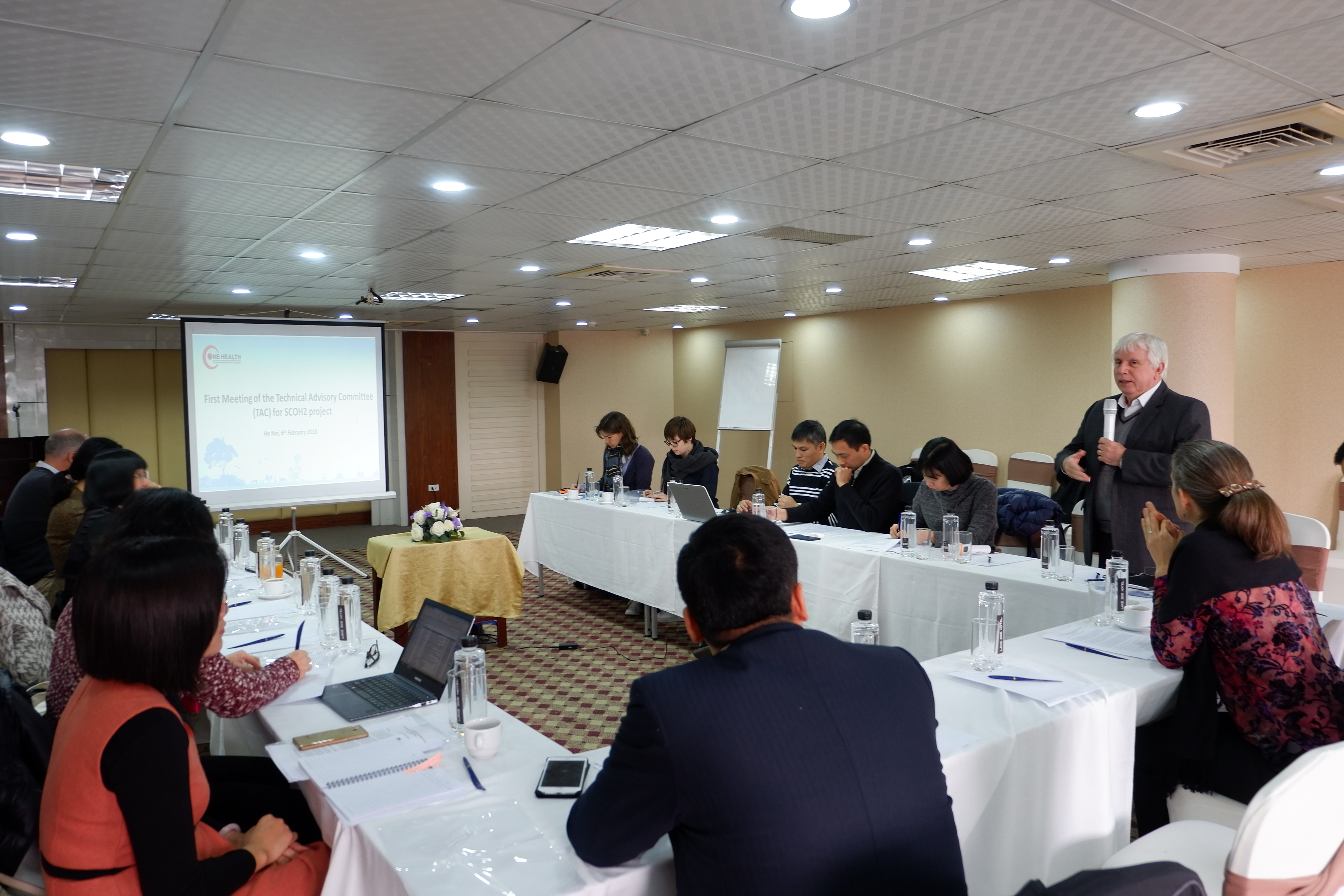 "Stimulating research activities within the framework of the project ""Strengthening Capacity for the Implementation of One Health in Viet Nam – Phase 2"" (SCOH2)"