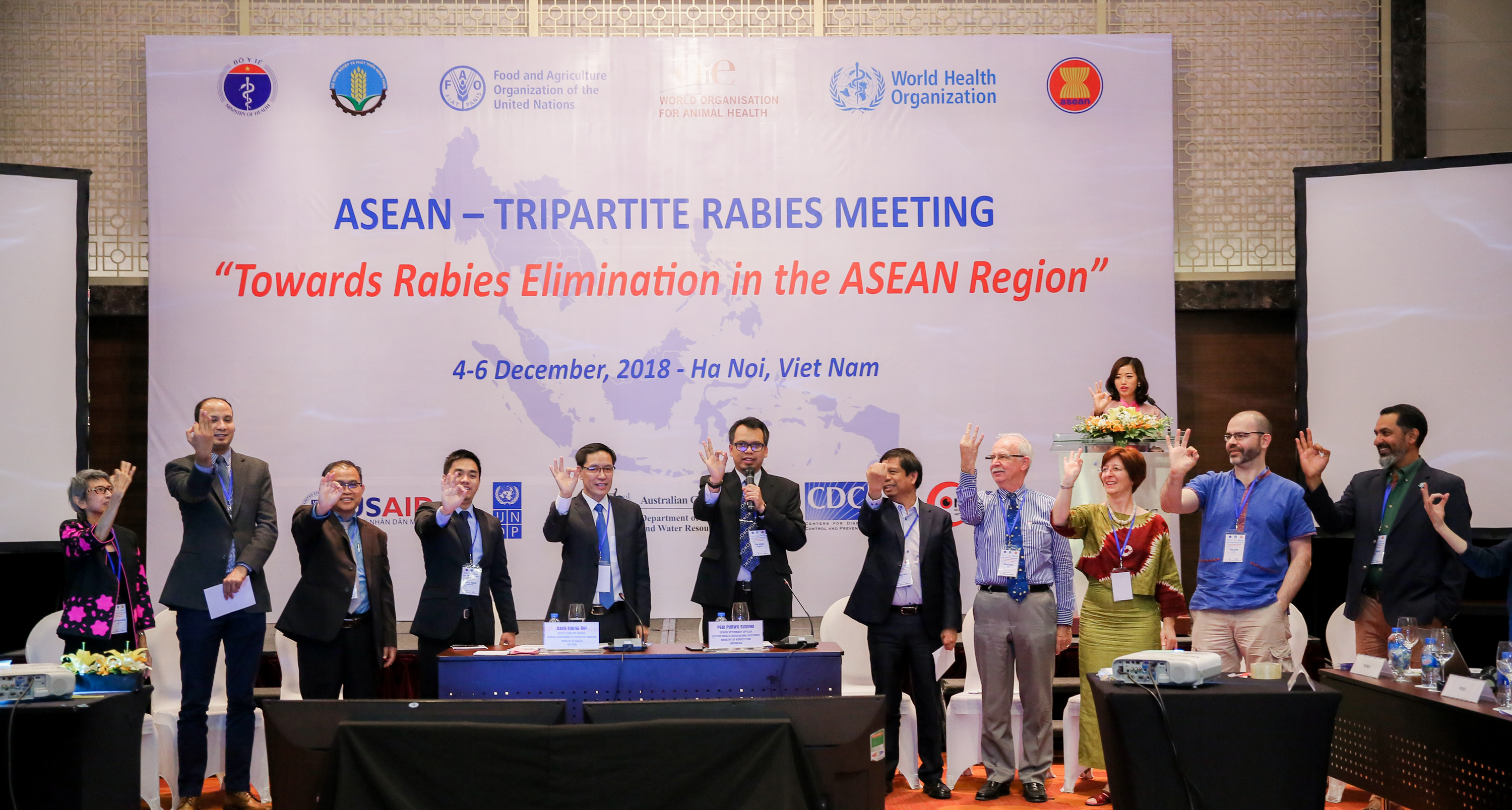 ASEAN countries, partners to scale up rabies elimination efforts