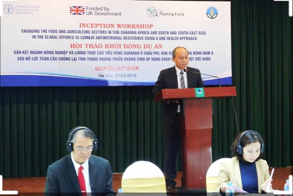 Các hoạt động hợp tác quốc tế nổi bật của Việt Nam trong thời gian qua nhằm ứng phó với tình trạng kháng thuốc